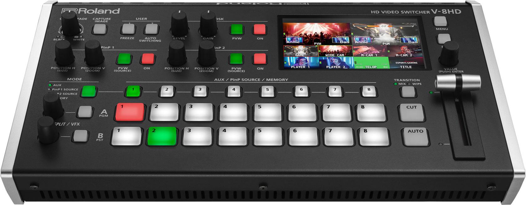 #workitwednesday Roland V-8HD Video Switcher